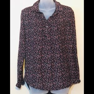 Mudd top/ blouse , floral design , size S